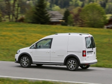 Фото Volkswagen Cross Caddy Fourgon  №11