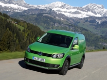 Фото Volkswagen Cross Caddy Fourgon  №1