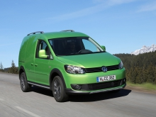 Фото Volkswagen Cross Caddy Fourgon  №2